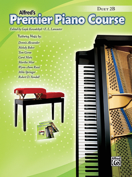 Premier Piano Course Duets, Book 2B