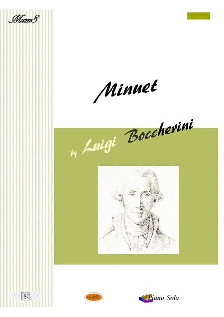 Minuet de Boccherini piano solo