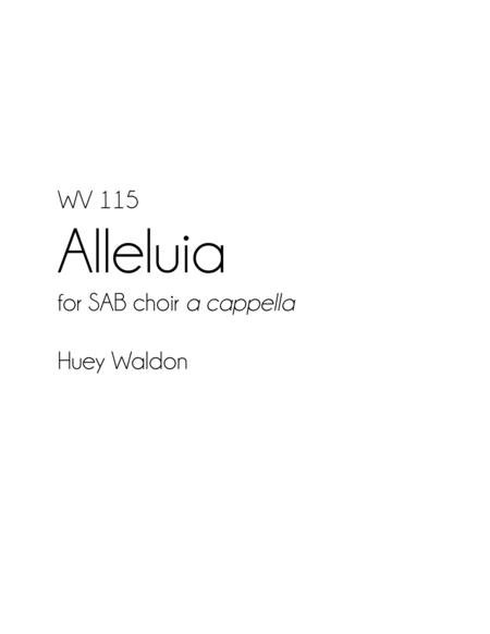 Alleluia, for SAB choir a cappella