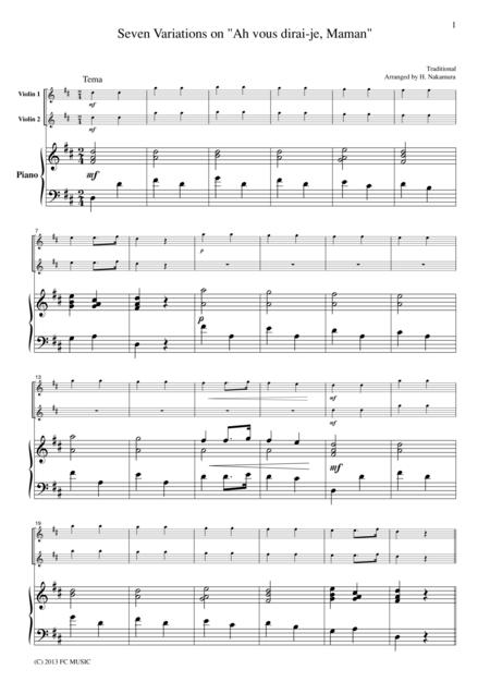 Seven Variations on