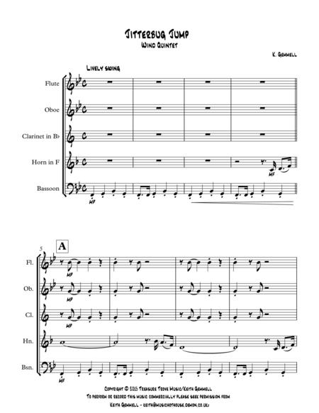 Jitterbug Jump: Wind Quintet