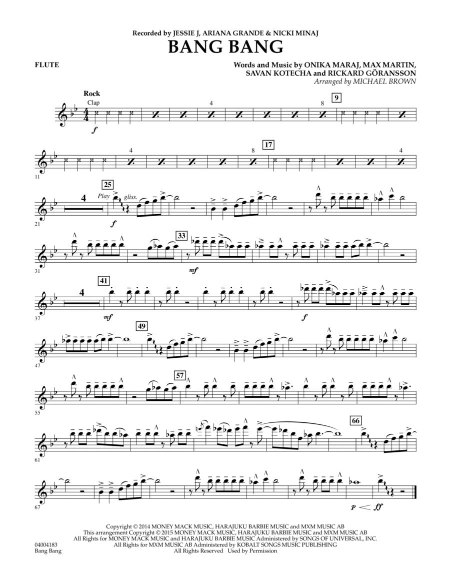 Bang Bang - Flute