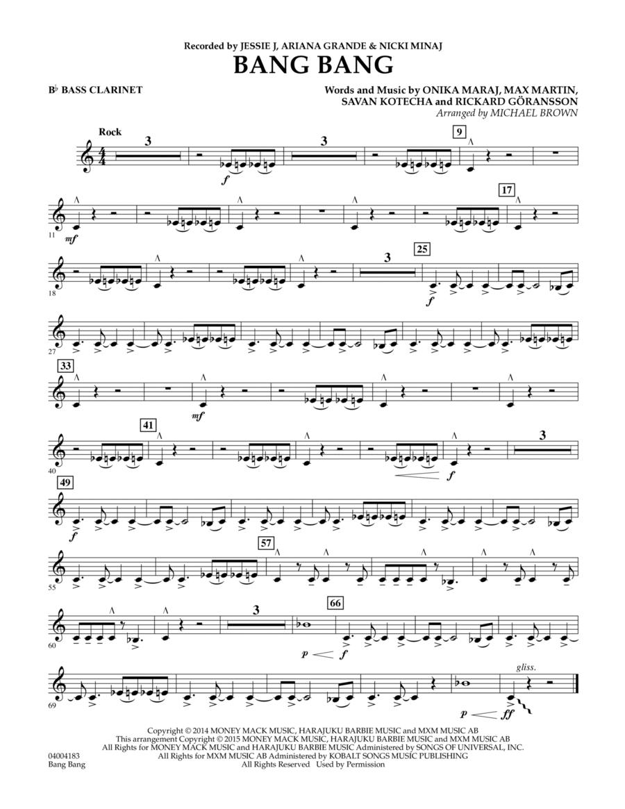 Bang Bang - Bb Bass Clarinet