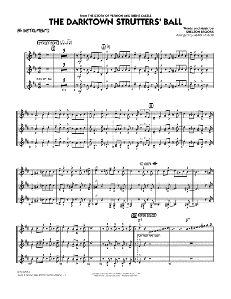 jazz combo sheet music pdf