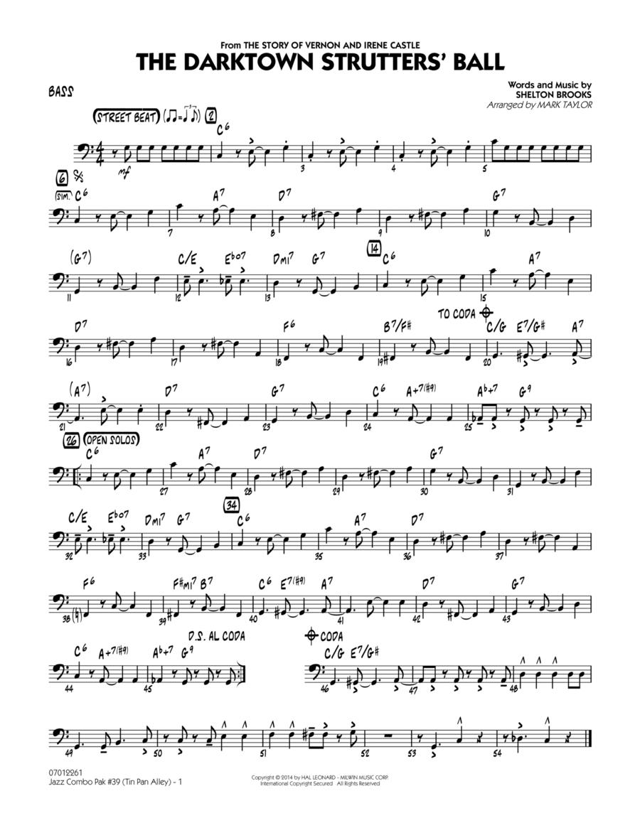 Jazz Combo Pak #39 (Tin Pan Alley) - Bass