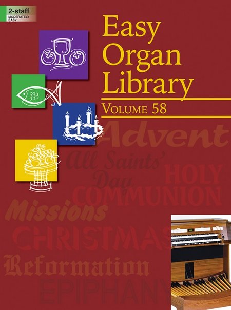 Easy Organ Library, Vol. 58