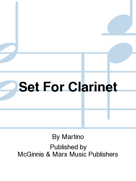 Set For Clarinet