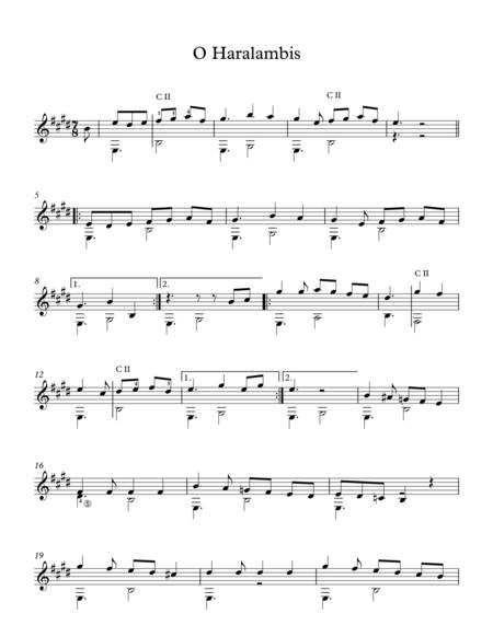 O Haralambis - Traditional Greek Song