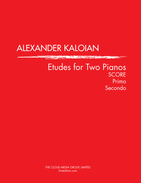 Etudes for Two Pianos (2014)