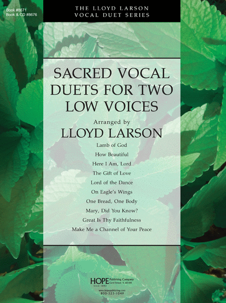 Sacred Vocal Duets For Two Low Voices