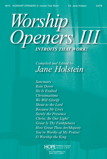 Worship Openers III: Introits That Work!