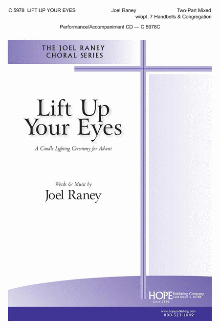 Lift Up Your Eyes: A Candle Lighting Ceremony For Advent