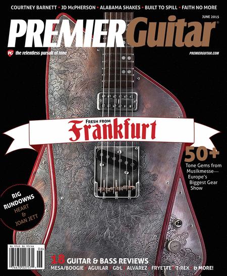 Premier Guitar Magazine June 2015