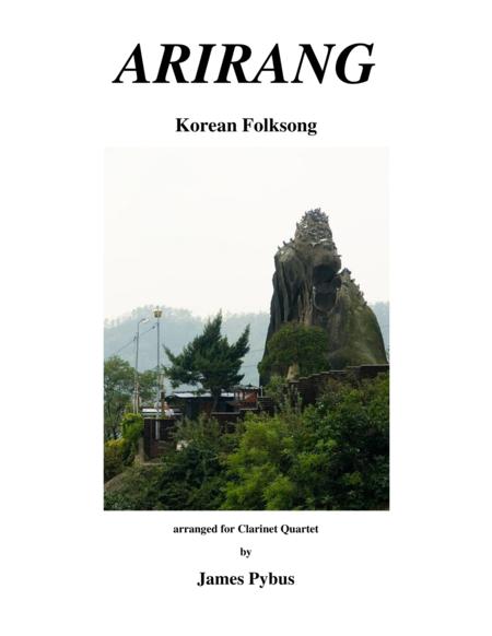 Arirang (Korean Folk Song) (clarinet quartet version)