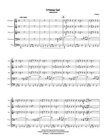 Jitterbug Jump: Brass Quintet
