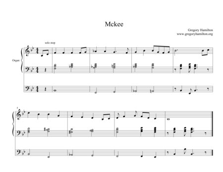 Mckee - Alternate Harmonization