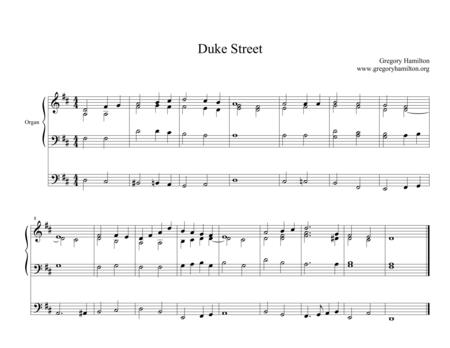 Duke Stree - Alternate Harmonization