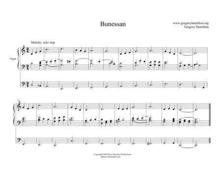 Bunessan - Alternate Harmonization