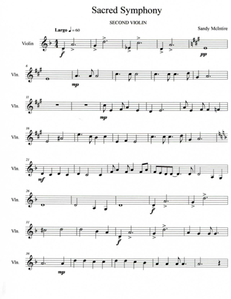 Sacred Symphony - Second Movement: Largo