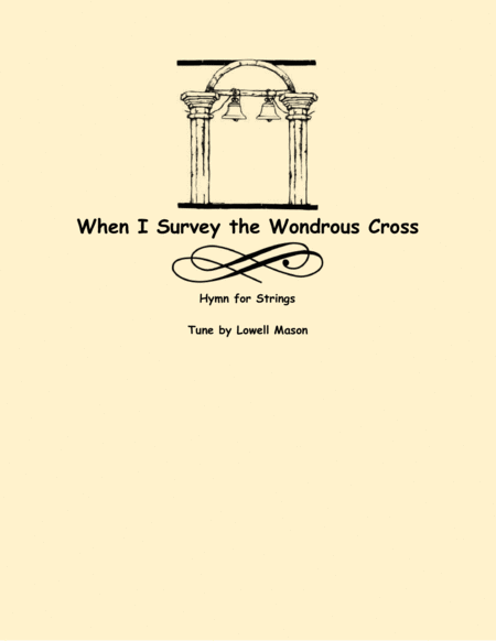 When I Survey the Wondrous Cross