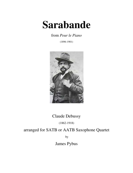 Sarabande from Pour le Piano