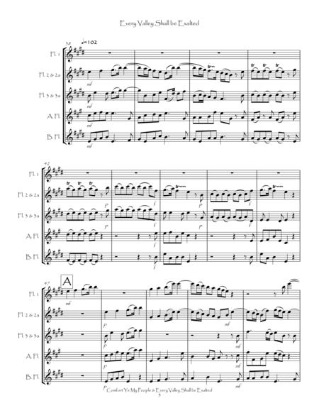 comfort ye sheet music pdf