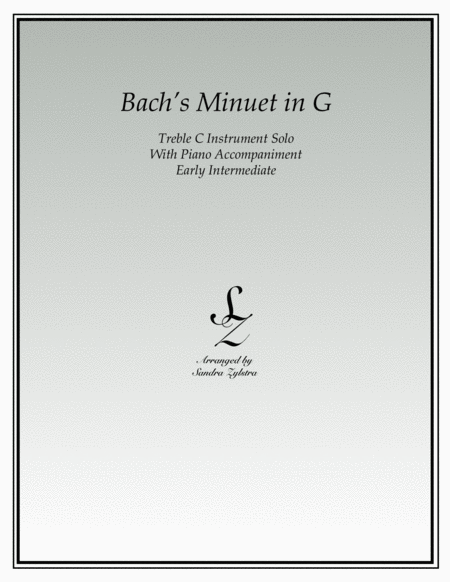 Bach's Minuet In G