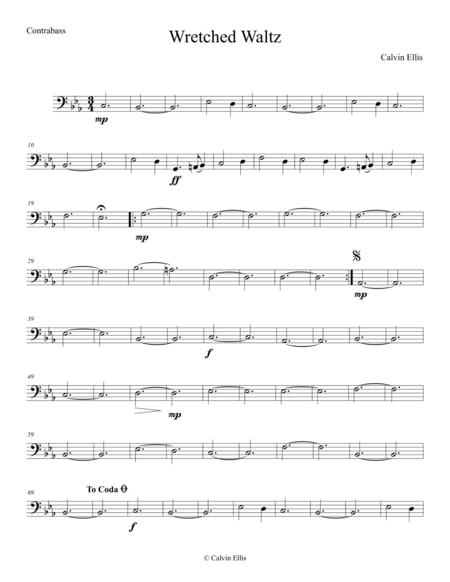 Wretched Waltz (Contrabass Part)