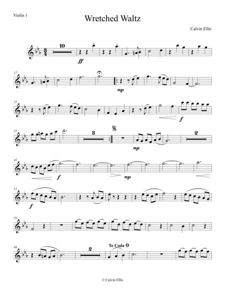 Wretched Waltz (Violin 1 part)