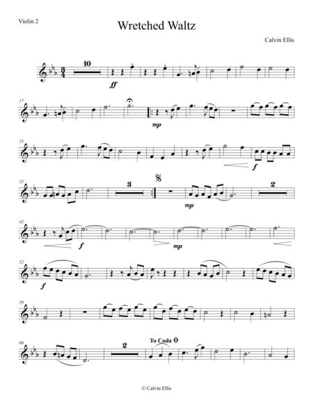 Wretched Waltz (Violin 2 part)