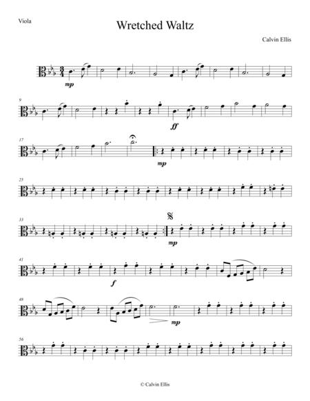 Wretcehd Waltz (Viola part)