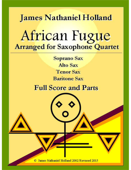 African Fugue for Saxophone Quartet