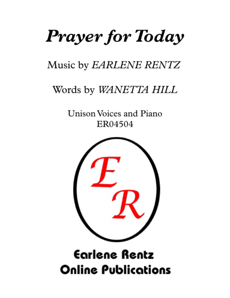 Prayer for Today - Unison