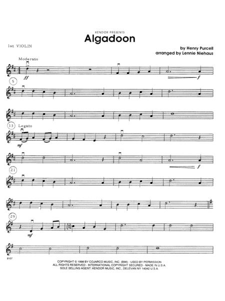 Algadoon - 1st Violin