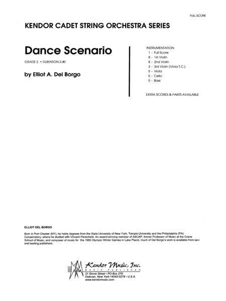 Dance Scenario - Full Score