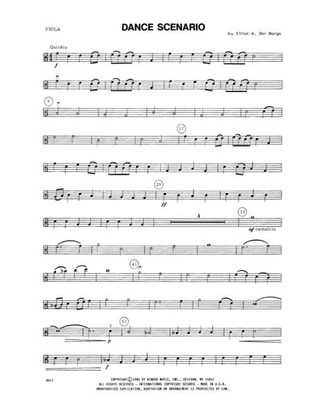 Dance Scenario - Viola