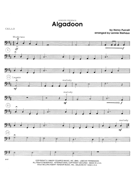 Algadoon - Cello