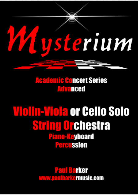 Mysterium (Score and Parts)
