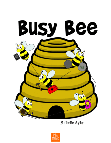 Busy Bee (Beginner Piano)