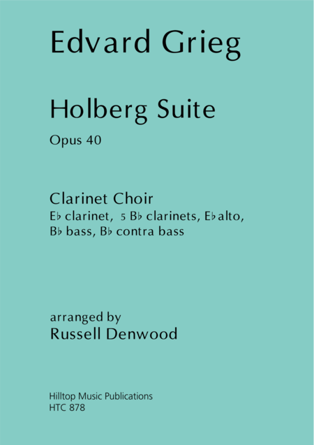 Holberg Suite arr. Clarinet Choir