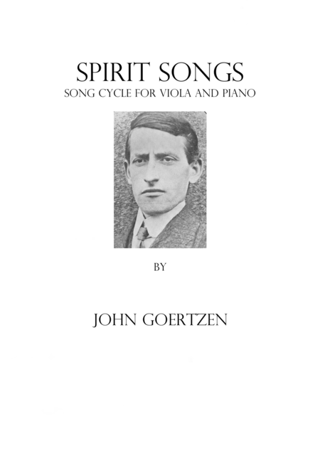 Spirit Songs: For Viola & Piano