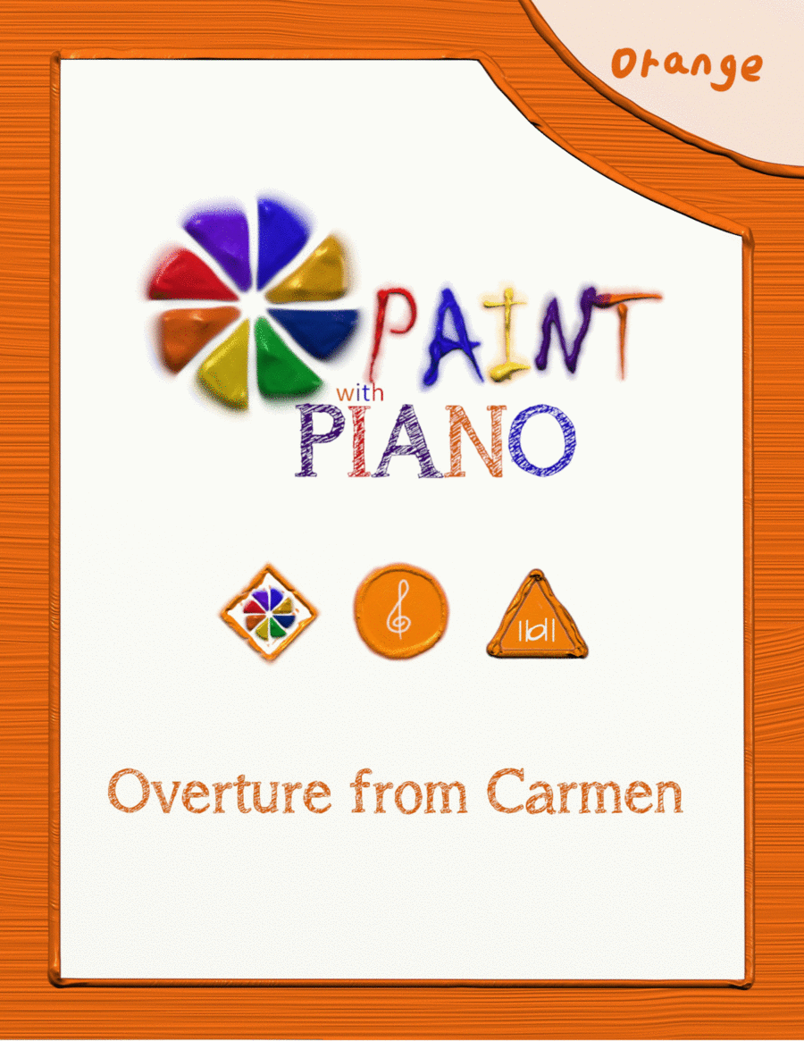 Overture from Carmen (easy piano)