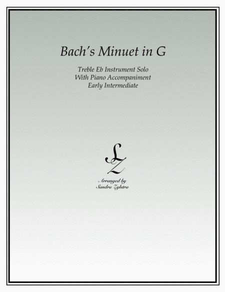 Bach's Minuet In G