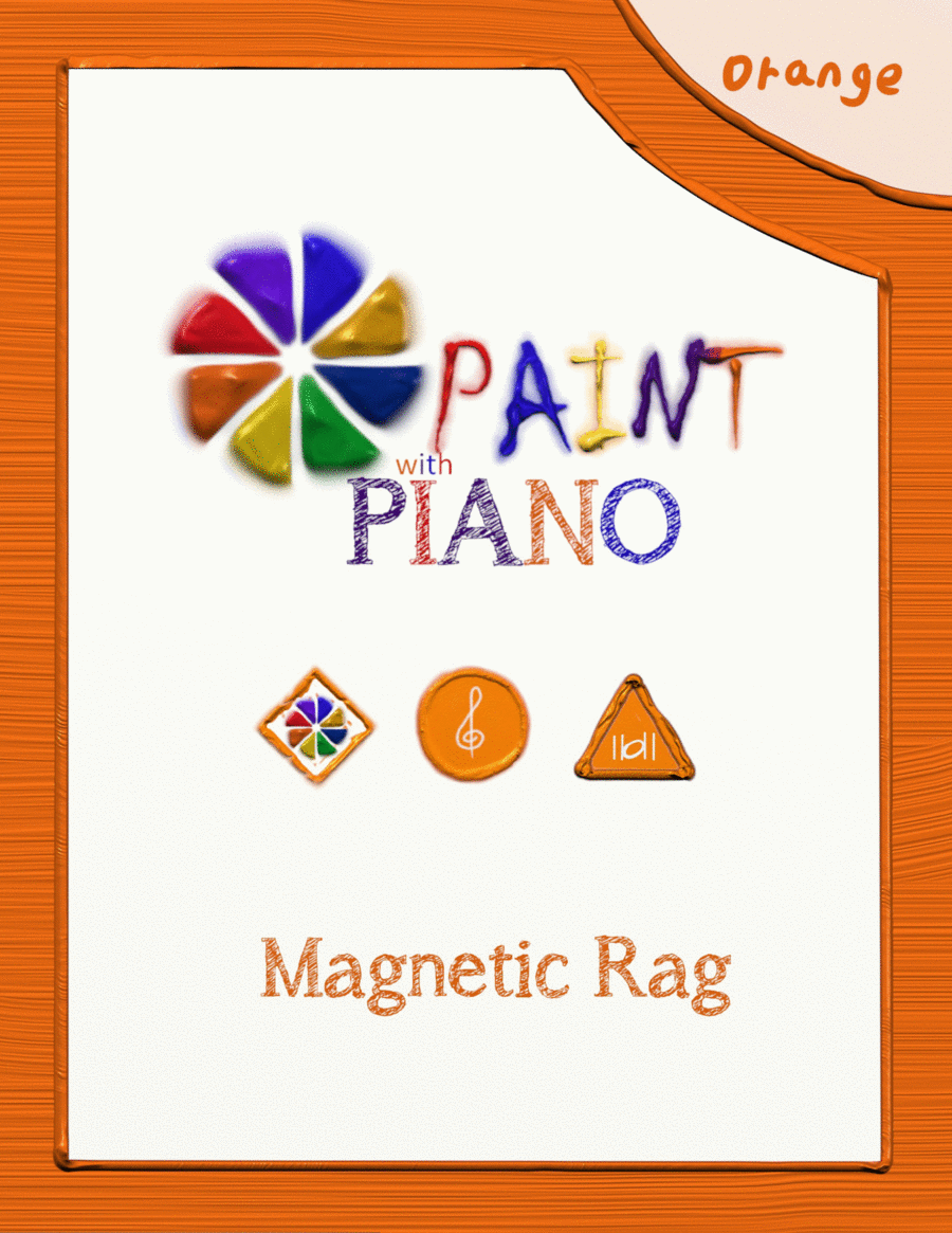 Magnetic Rag - Easy Piano