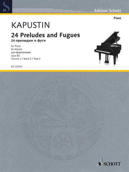 24 Preludes and Fugues Op. 82
