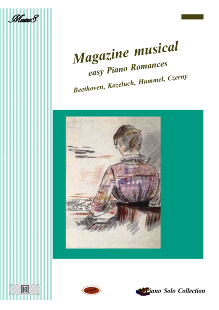 Magazine Musical Easy Piano Romances