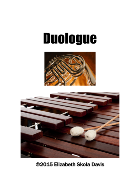 Duologue for Horn in F and Marimba