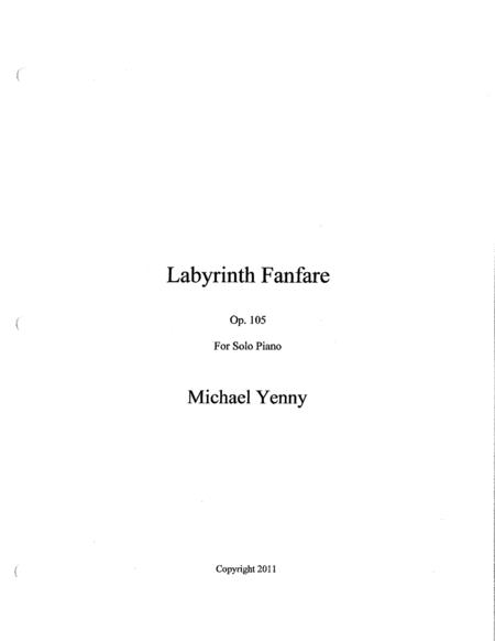 Labyrinth Fanfare, op. 105