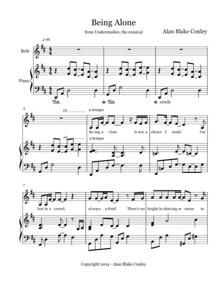 Being Alone - Understudies, the musical