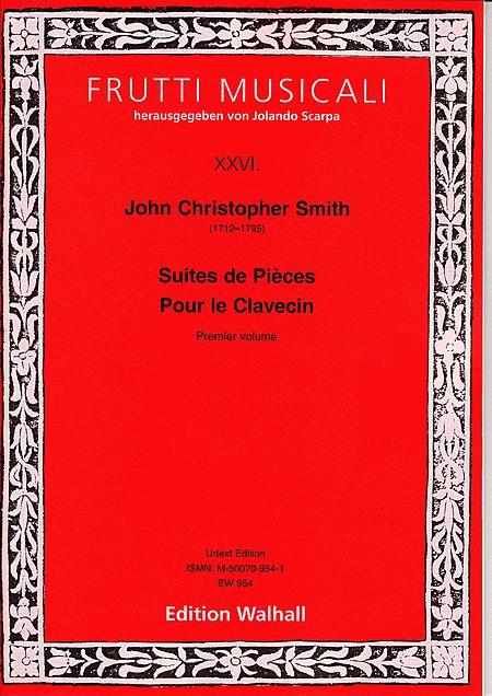 Suites de Pieces pour le Clavecin, Vol 1